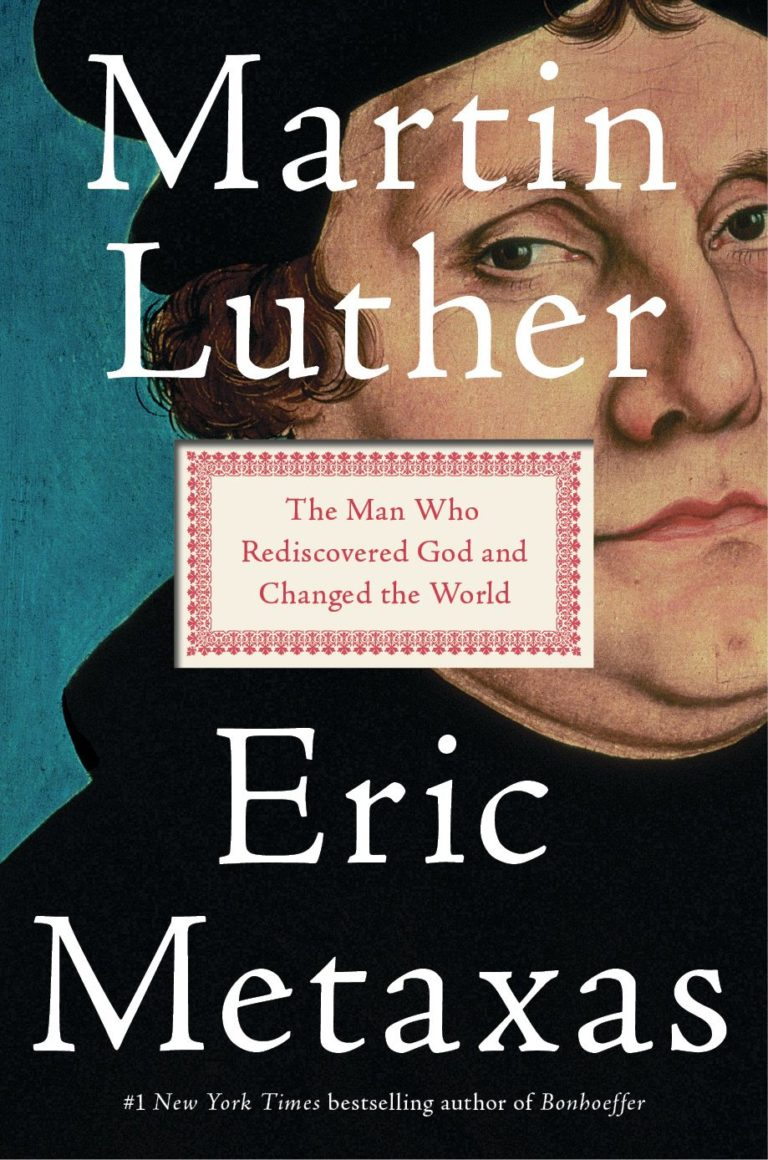 Eric Metaxas' on his biography of Martin Luther, the