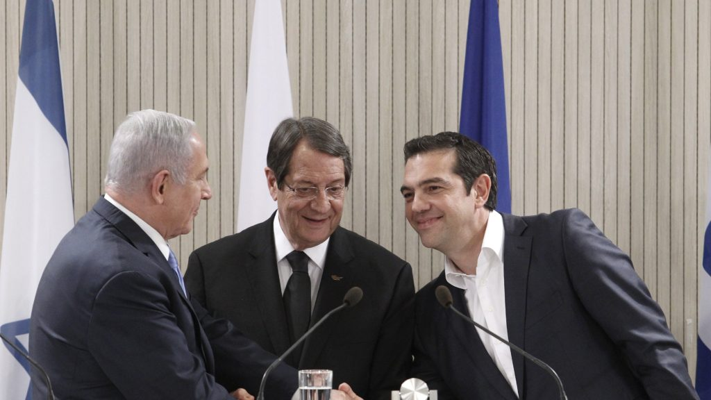 Cyprus, Israel, Greece leaders to push ahead with Mediterranean gas pipeline