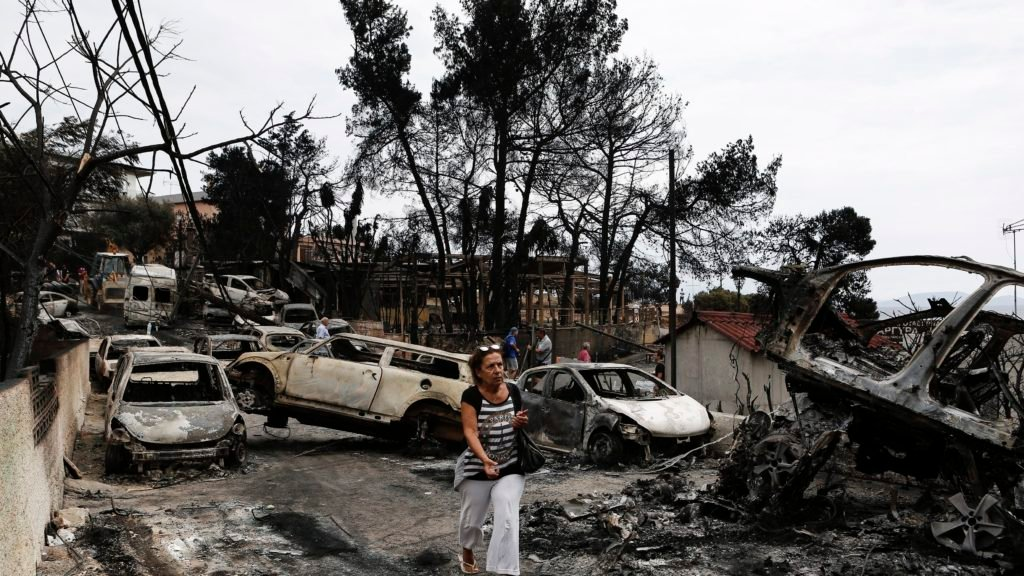 Greece wildfires: At least 50 killed, over 150 hospitalised