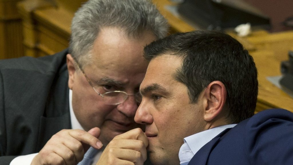 Greek foreign minister quits in Macedonia name row