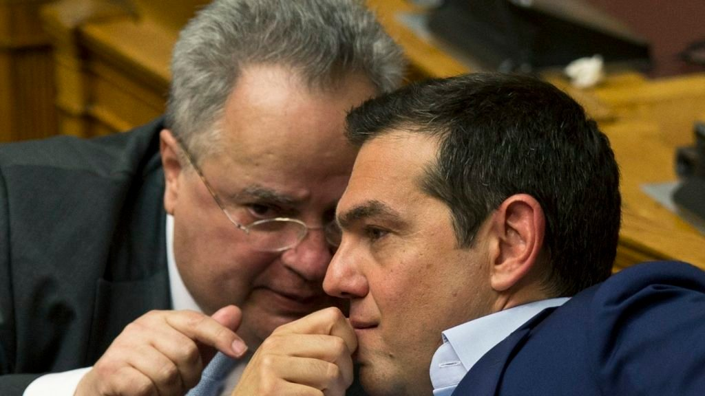 Greek PM sends message of
