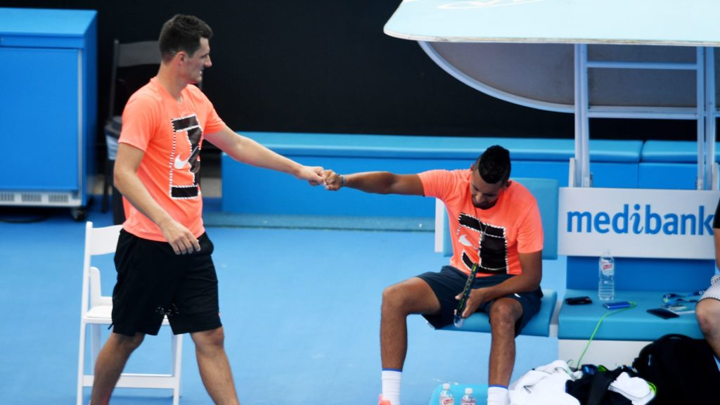 Tomic upset with tennis balls