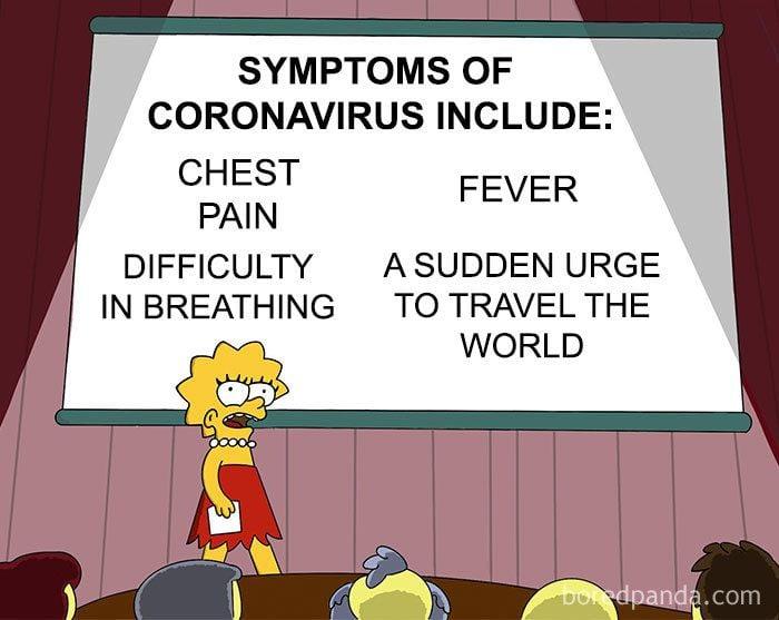 coronavirus and social media memes go viral over the
