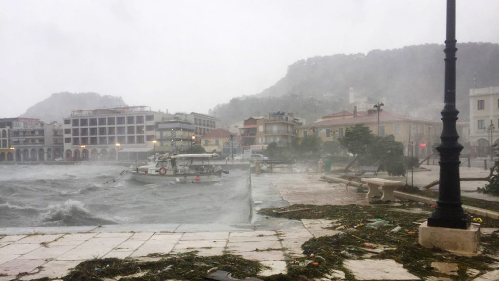 Tropical-like storm batters Greek islands, cause outages - global
