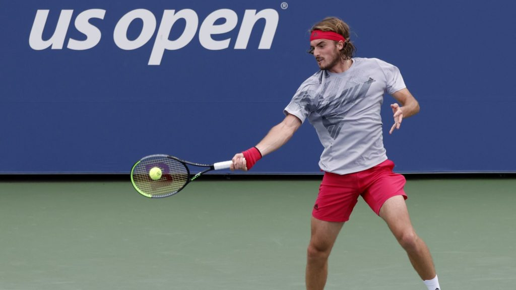 Fourth seed Tsitsipas breezes into US Open second round